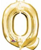Groothandel mega grote gouden ballon letter q speelgoed
