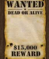 Groothandel most wanted reward poster speelgoed