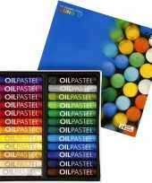Groothandel oliepastel kleurtjes 24 stuks speelgoed