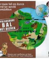 Groothandel opblaasbare dieren aardbol 50 cm speelgoed
