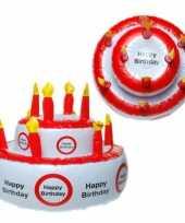 Groothandel opblaasbare taart hoed happy birthday speelgoed