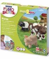Groothandel oven verhardende klei pakket boerderij speelgoed