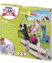 Groothandel oven verhardende klei pakket pony speelgoed
