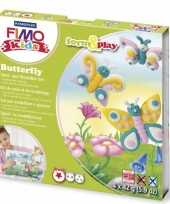 Groothandel oven verhardende klei pakket vlinder speelgoed
