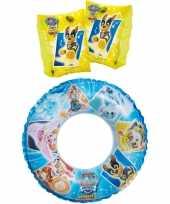 Groothandel paw patrol zwembad speelgoed set zwemband en gele zwemmouwtjes 3 6 jaar