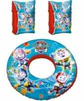 Groothandel paw patrol zwembad speelgoed set zwemband en zwemmouwtjes 3 6 jaar