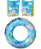 Groothandel peppa pig zwembad speelgoed set zwemband en roze zwemmouwtjes 3 6 jaar