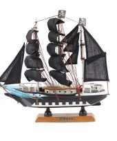 Groothandel piraten boot decoratie op voet 24 cm speelgoed