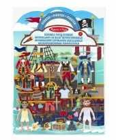 Groothandel piraten stickerboek speelgoed