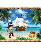 Groothandel piraten thema poster kapitein speelgoed
