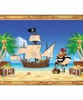 Groothandel piraten thema poster roodbaard speelgoed