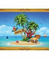 Groothandel piraten thema poster schateiland speelgoed