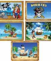 Groothandel piratenfeestje muurposters speelgoed