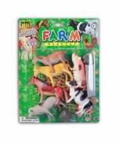 Groothandel plastic boerderij dieren 12 delig speelgoed