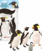 Groothandel plastic pinguins voor kinderen 5 stuks speelgoed