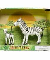 Groothandel plastic zebra met veulen speelgoed voor kinderen