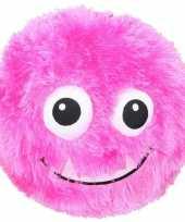Groothandel pluche bal roze met gezicht 23 cm speelgoed
