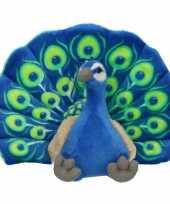 Groothandel pluche pauw knuffeltje 30 cm speelgoed