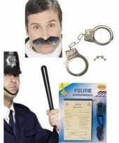 Groothandel politie verkleed accessoires pakket speelgoed