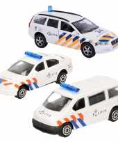 Groothandel politie wagens uitgebreide speelgoed set 4 delig die cast