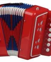Groothandel rode accordeon speelgoed