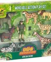 Groothandel safari speelset afrika speelgoed