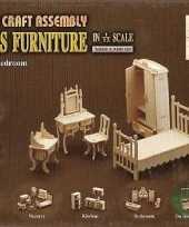 Groothandel slaapkamer meubels poppenhuis speelgoed