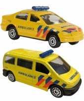 Groothandel speelgoed 112 ambulance set 2 delig