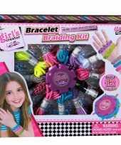 Groothandel speelgoed armbandjes vlechten set