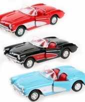 Groothandel speelgoed auto chevrolet corvette 1957 cabrio