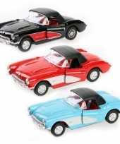 Groothandel speelgoed auto chevrolet corvette 1957