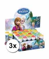 Groothandel speelgoed bellenblaas frozen 3x