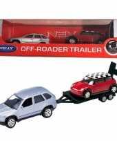 Groothandel speelgoed bmw met auto op aanhanger 1 60