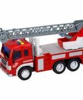 Groothandel speelgoed brandweerwagen met licht effecten en sirenegeluid 27 5 x 10 x 14 cm