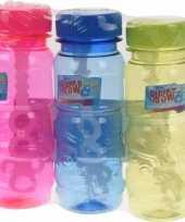 Groothandel speelgoed gekleurde bellenblaas flesjes 3 stuks x 115ml
