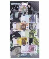 Groothandel speelgoed geld euro biljetten setje op headercard