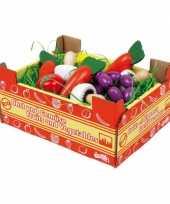 Groothandel speelgoed groente kistje