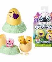 Groothandel speelgoed hatchimals colleggtibles nest met 2 eieren geel seizoen 3