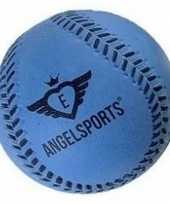 Groothandel speelgoed honkbal blauw 7 cm
