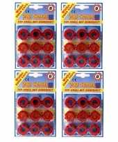Groothandel speelgoed klappertjespistool kogels 8 schots 10158298