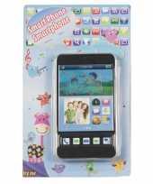 Groothandel speelgoed mobiele telefoon zwart 10076661