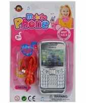Groothandel speelgoed mobieltje zilver