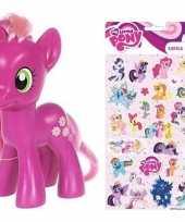 Groothandel speelgoed my little pony plastic figuur cheerilee met stickers stickervel