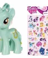 Groothandel speelgoed my little pony plastic figuur heartstrings met stickers stickervel