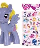 Groothandel speelgoed my little pony plastic figuur lily blossom met stickers stickervel