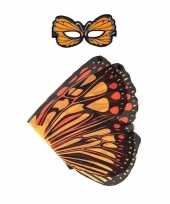 Groothandel speelgoed oranje monarchvlinder verkleedset