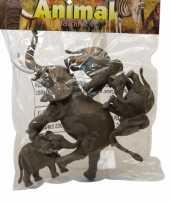 Groothandel speelgoed set 4 olifanten