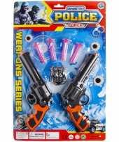 Groothandel speelgoed set politie thema 7 delig voor kinderen