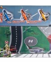 Groothandel speelgoed vliegveld plattegrond