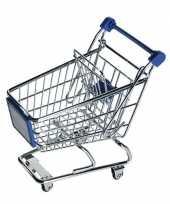 Groothandel speelgoed winkelwagentje blauw